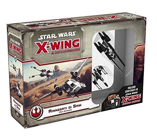 STAR WARS X-WING : RINNEGATI DI SAW Miniatura Espansione Gioco da Tavolo Italiano