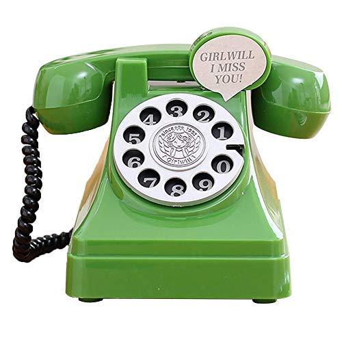 Geld dozen, plastic spaarvarken Meisjes telefoongeheugen jar Leuke jongen Desktopdecoratie,Green,S