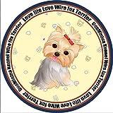 Miwaimao - Alfombrilla para perrera de perro con gamuza circular para primavera y verano, alfombra grande y pequeña para perros y gatos, color amarillo Yorkshire, diámetro circular XXL, 1,2 m