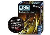 Collectix Kosmos Spiele 694043 - EXIT - Das Spiel - Das Haus der Rätsel + 1x Exit Sticker