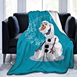 Moderate O-laf Micro Stylish Fleece Blanket for Plush Bed Couch Living Room Ultra-Soft Lightweight Warm Blanket for Adults Kids 80'x60'