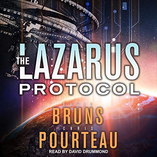 The Lazarus Protocol audiobook cover art