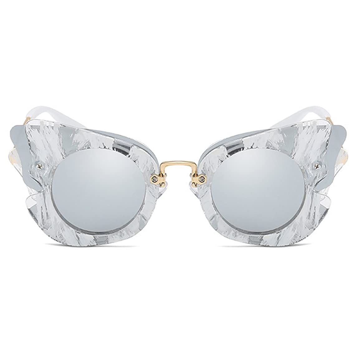 Fantia Girls Sunglasses Children Princess Polarized Eyeglass Wings Tourism