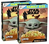 Star Wars: The Mandalorian Fruity Flavored Sweetened Cereal with Marshmallows Breakfast Cereal Family Sized Box - 2 Pck (2 lb 5.2 oz)