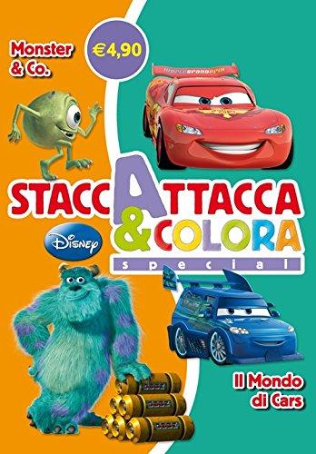 Monster & Co-Il mondo di Cars. Staccattacca e colora special. Con ade sivi. Ediz. illustrata