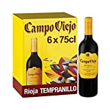 Campo Viejo Rioja Tempranillo, Spanish Soft, Velvety and Smooth Red Wine