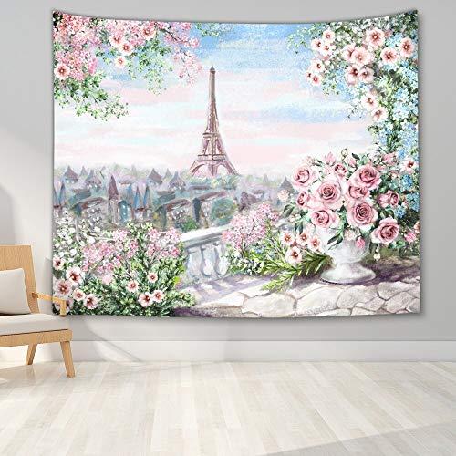 KHKJ Tapiz de impresión de Paisaje Natural decoración de Pared Tapiz de Bosque Tapiz Colgante de Pared decoración de fantasía Tapiz A6 200x150cm