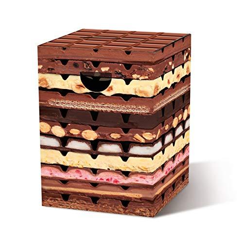 Remember Papphocker Schokolade