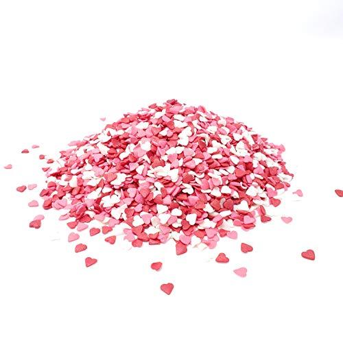 Candy Retailer Valentine Heart Shaped Cupcake Sprinkles 4 oz.