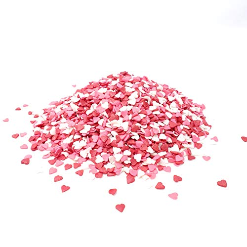 Candy Retailer Valentine Heart Shaped Cupcake Sprinkles 4 oz.