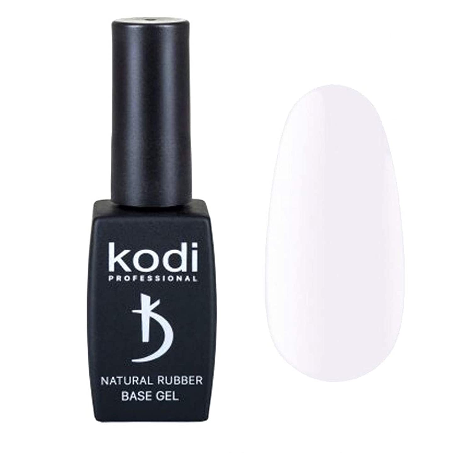 紫のクリーク誓約Kodi Professional New Collection BW White #10 Color Gel Nail Polish 12ml 0.42 Fl Oz LED UV Genuine Soak Off
