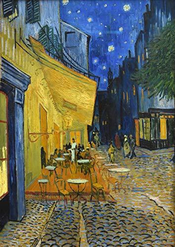 ポスター ゴッホ 『夜のカフェテラス』 A2サイズ【返金保証有 日本製 上質】 [インテリア 壁紙用] 絵画 アート 壁紙ポスター
