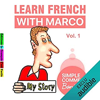Learn French with Marco 1 cover art