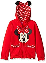 Girls Minnie Mouse Hoodie