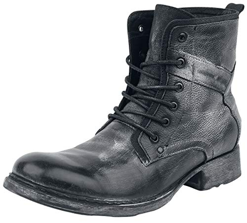 Black Premium by EMP Road Man Männer Bikerboot schwarz EU46 Leder Basics, Casual Wear, Rockabilly