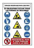 S21 Señalización CO-001 Cartel epis obra, Multicolor