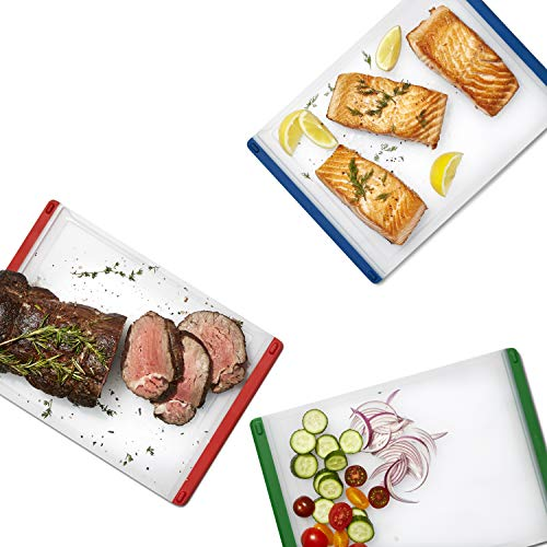 OXO Good Grips 3-Piece Everyday Cutting Board Set,Multicolor,One Size