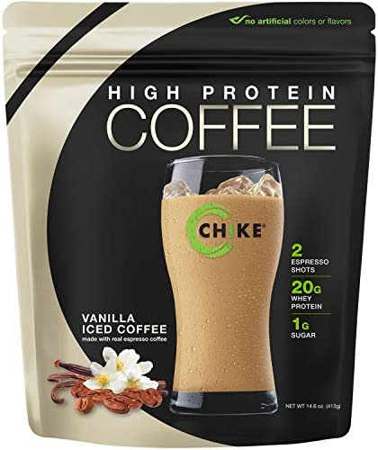 Chike High Protein Iced Coffee, Mocha, 14 Servings (16.3 Ounce)