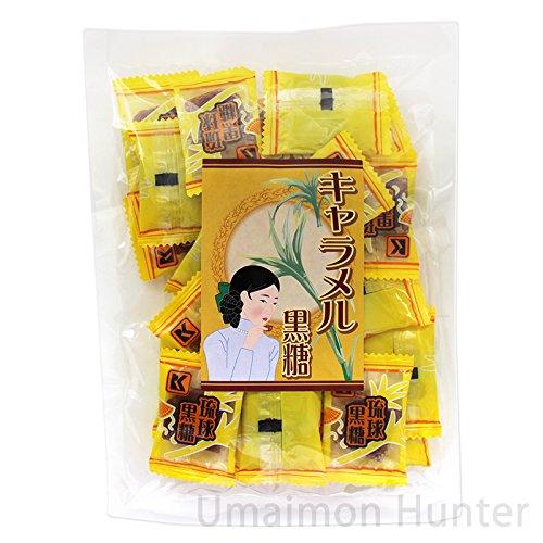 キャラメル黒糖 120g×25袋 琉球黒糖 黒糖のコクとキャラメルの組み合わせが絶妙 黒糖菓子 沖縄土産に