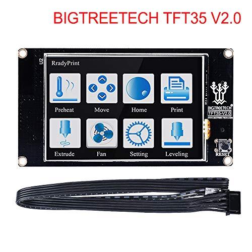PoPprint BIGTREETECH TFT35 V2.0 Smart Controller Wifi Display TFT3.5 Zoll Touchscreen 3D Drucker Teile Für SKR V1.3 PRO MINI E3 Steuerplatine (TFT35 V2.0)