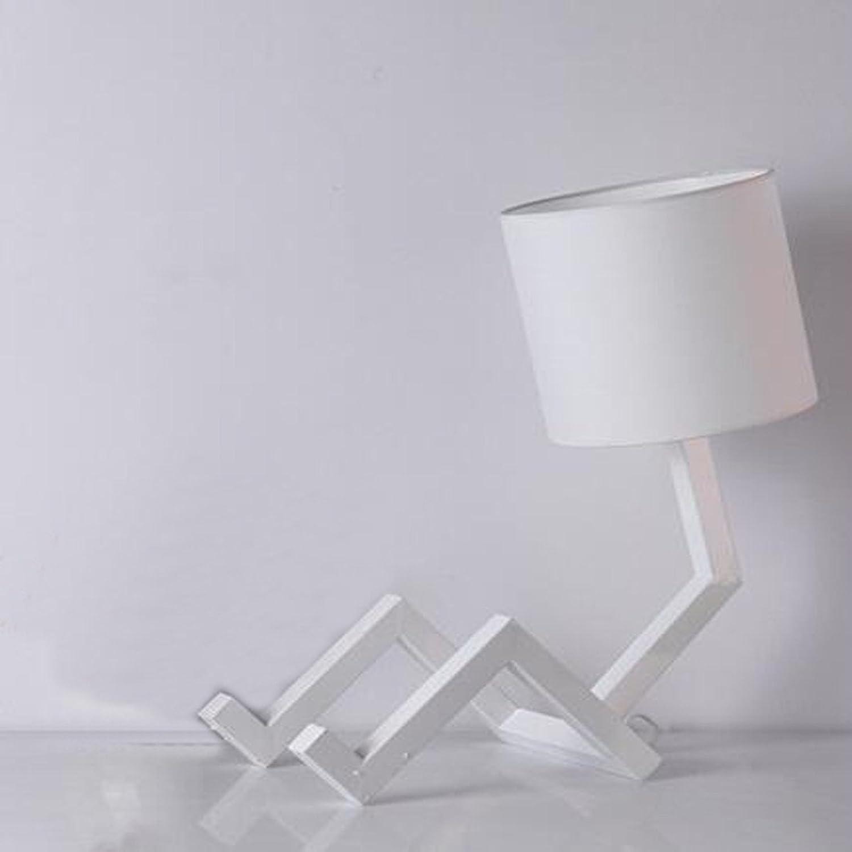 Führte Energiesparende Lampen Moderne Einfache Einfache Einfache Lampe Schlafzimmer Restaurant Studienlampe Feierscheinwerfer Kreatives Menschlich-geformtes Licht Der Art Und Weise Nach Hause,Weiß B0785XLD9P   Up-to-date-styling  a23b38