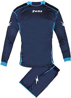 Completo di Giacca con Zip Manica Lunga e Pantalone//Home Shop Italia 6XS, Rosso//Blu Marchio Givova Modello Tuta Torino