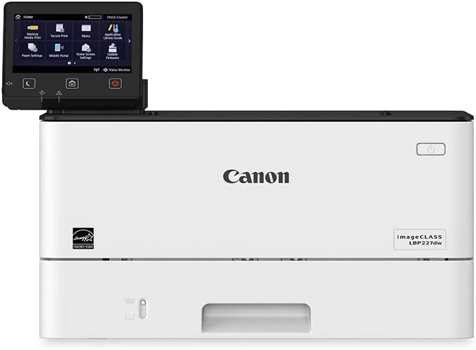 Canon Imageclass LBP227dw - Wireless, Mobile-Ready, Duplex Laser Printer, with Expandable Paper Capacity Up to 900 Sheets (Item Code: 3516C004), White