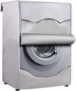 [Mr.You]洗濯機カバー ドラム洗濯機専用 防水日焼け止め 防水生地 (無地の色)