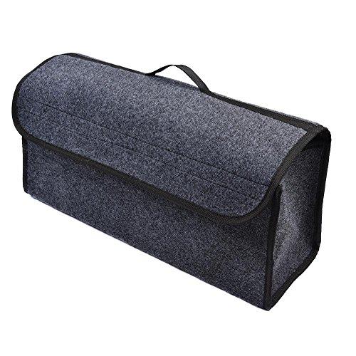 Caja de almacenamiento plegable para el compartimento del coche, bolsa de almacenamiento...