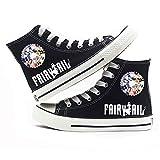 NLJ-lug Fairy Tail Anime Casual Zapatos de lona para niños y niñas, hombres y mujeres, 7.5UK