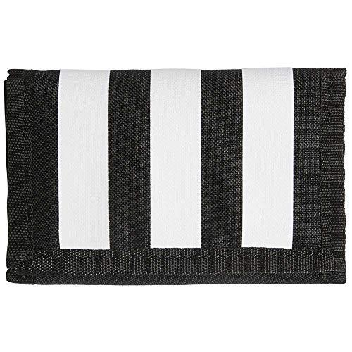 Adidas FL3654 3S Wallet Wallet Unisex-Adult Black/Black/White NS