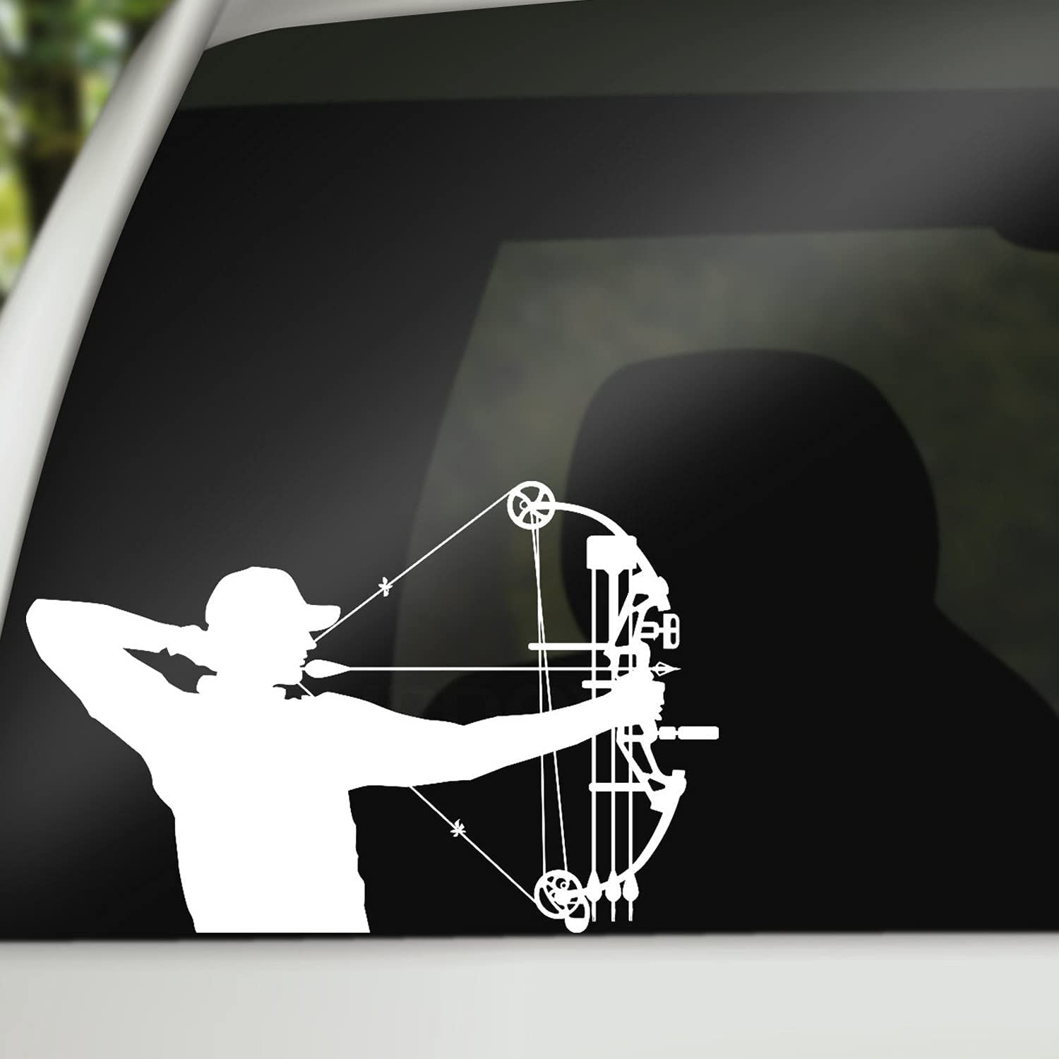 Bow Super sale Decal Hunting Sticker Under blast sales for Laptop Car Wall or Vinyl