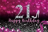 パーティーのための新しい甘い16歳の誕生日の背景7x5ftハッピーガール18歳の誕生日パーティーの写真の背景水彩画の花の女の子の娘写真撮影の小道具のためのハッピー18歳の誕生日バナー