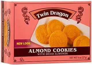 New 300986 Twin Dragon Cookies 8 Oz Almond (24-Pack) Cookies Cheap Wholesale Discount Bulk Snacks Cookies