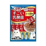 チャオ すごい乳酸菌クランキー かつお節味 22g×5袋