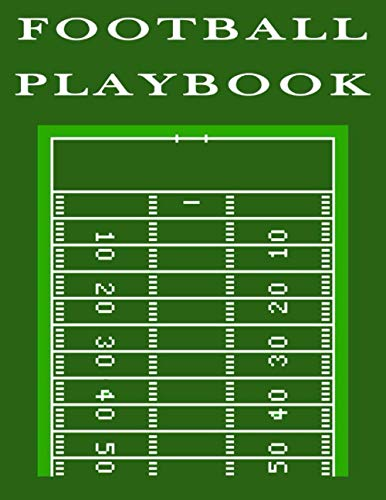 Playbook de football: Cahier d'entraîneur de football de 100 pages avec diagrammes de terrain pour dessin, cahier de diagramme de terrain de football, défense de livres d'entraînement de football