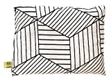 Miniblings Kräuterkissen Schlafkissen Erkältung Kräuter 23x17cm Weiß Geometrie