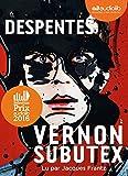 Vernon Subutex 1 - Livre audio 1 CD MP3 - Audiolib - 20/01/2016
