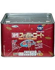 アサヒペン 油性スーパーコート 5L 白