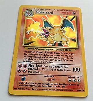 Pokemon - Charizard  4/102  - Base Set - Holo Card