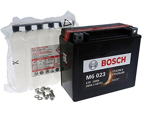 Preisvergleich Produktbild Batterie BOSCH YTX20L-BS 12 Volt - YAMAHA XV Wildstar 1600 99-02 [inkl. 7, 50 Batteriepfand]