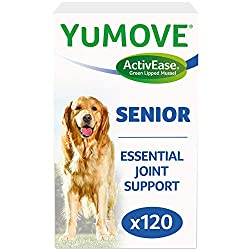 As seen on TV - the UK's No.1 veterinary joint supplement brand enjoyed by happier, healthier dogs. Kynetec VetTrack September 2020. Sales of YuMOVE branded products through veterinary wholesalers. Item package may vary Added N-Acetyl D-glucosamine t...