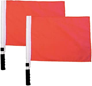 MAYFOO Sports Referee Flags Track and Field Sports Training Flag Signal Flags