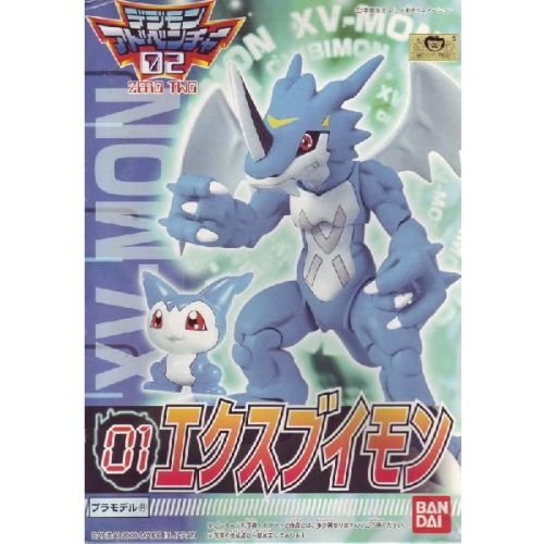 Digimon Adventure02 01 XV-mon Plastic Model Japan image