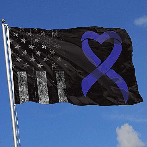Elaine-Shop Banderas al Aire Libre desgastadas Bandera de EE