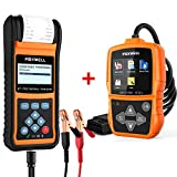 FOXWELL Car Battery Load Tester for 12V 24V Auto Batteries BT780 Analyzer with Foxwell Car Scanner NT201