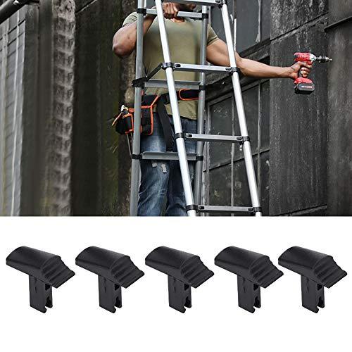 Interruptor de Escalera 5 Piezas Elevador Telescópico Interruptor de Escalera Accesorios de Repuesto Interruptor de Escalera Universal Mejora de Herramientas para El Hogar Negro