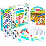 Color Shop Crayola Glitter Dots Sparkle Station ~ 100+ Pc Crayola Art Set for Kids | Glitter Arts and Crafts for Kids with 200+ Highlights Stickers and More (Crayola Glitter Dots)