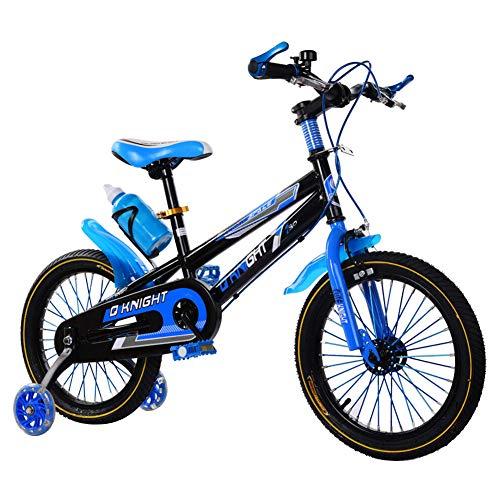 Woorea Nettes 16-Zoll-rosa Fahrrad für Kinder, Mädchenfahrrad mit Korb, Stützrädern, Sicherheitsstabilisatoren...