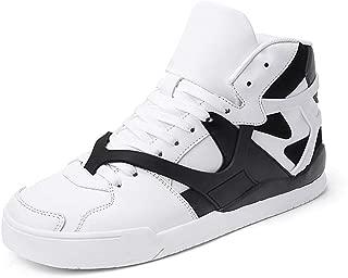 JIYE Men's Women's High Top Fashion Sneakers Korean-Style Casual Sports Shoes Walking Shoes